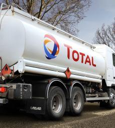 olie vrachtwagen