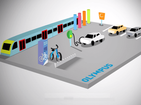 Olympus App Mobiliteit en routeplanner