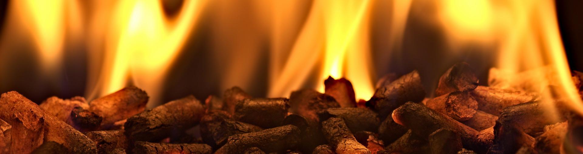 Pellets qui brûlent